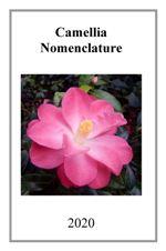 2020 Camellia Nomenclature